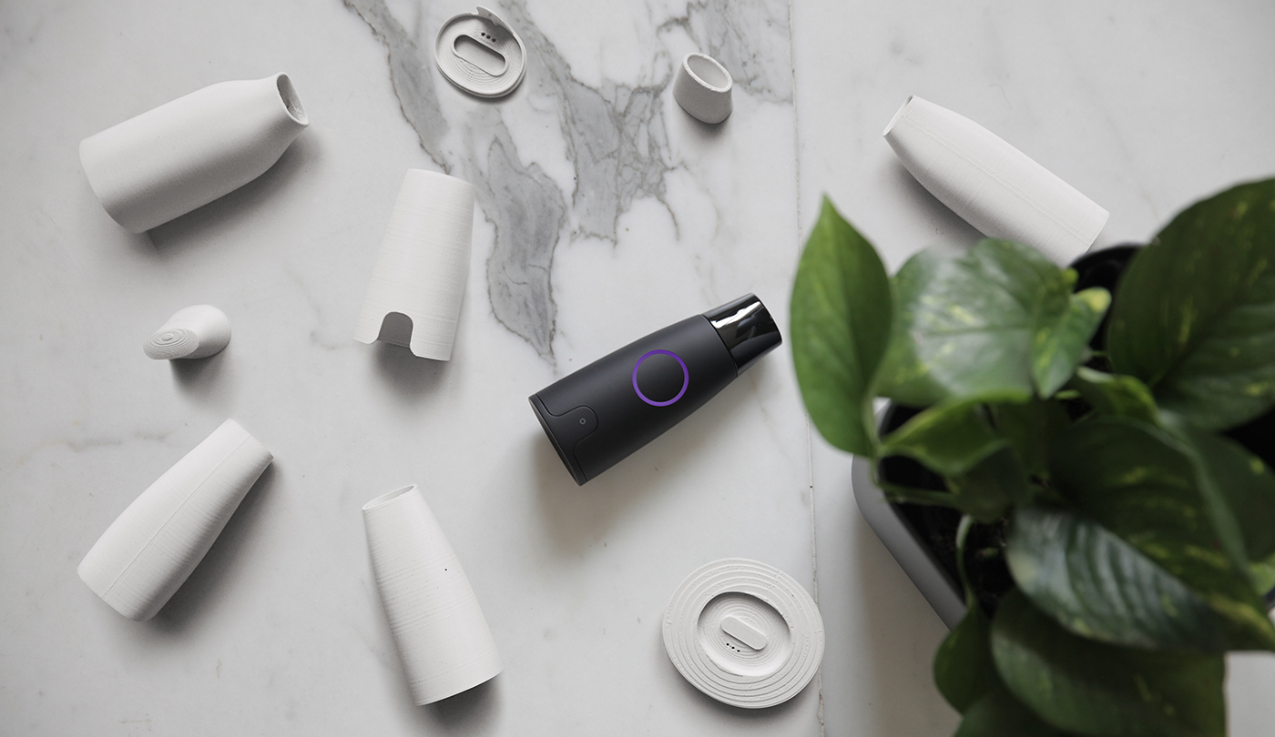 lumen handheld metabolism tracker product and ux design