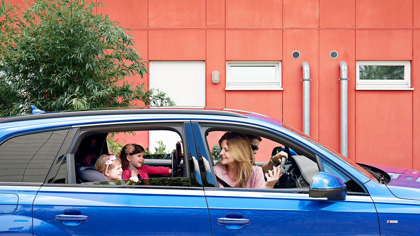 Enhancing Audi in-car experience through family engagement and safety