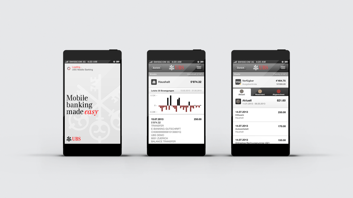Mobile Banking UBS